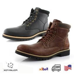 Winter Casual Combat Boots Office Work Hiking Motorcycle Lac