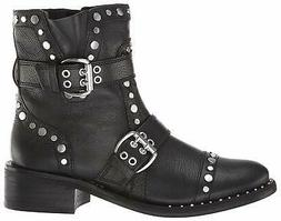 Sam Edelman Women's Drea Fashion Boot, Black Leather, Size 8