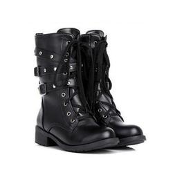 Women's <font><b>Boot</b></font> PU Leather <font><b>Boots</