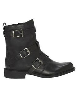 Vince Camuto Women's RAEGEL Motorcycle Boots BLACK
