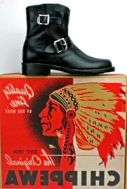 """Chippewa Women's Raynard 7"""" Harness Motorcycle Boots Size 7m"""