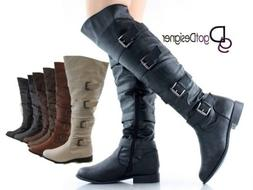 women s riding boot thigh high over