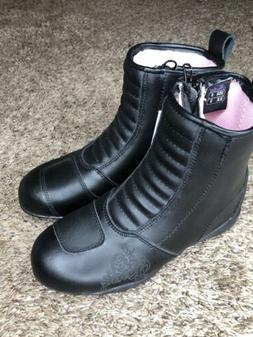 Women's boots size 6 Joe Rocket Trixie Waterproof Motorcyc