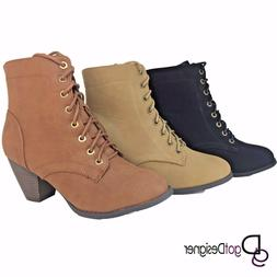 Womens Fashion Shoes Combat Boots Booties Ankle Boots Mid Ca