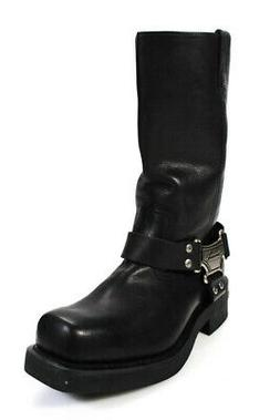 Harley Davidson Womens Leather Mega Harness Motorcycle Boots