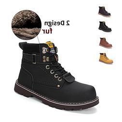 ENLEN&BENNA Women\Men's Work Boots Safety Boots Composite