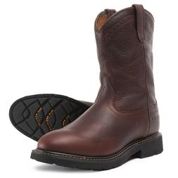 "ARIAT WORK SIERRA Pull-On men's 11"" Brown Western Cowboy Mot"