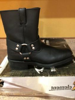 X Element Womens Harness Motorcycle Boot Size 9. LU2502 XEle