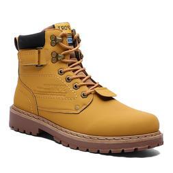 Yellow Cat <font><b>Boots</b></font> Men Winter Warm Snow Sh